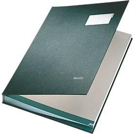 LEITZ Unterschriftenmappe A4, 20 Fächer, Karton/Polypropylen