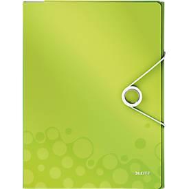 LEITZ® Dokumentenmappe Active Wow, DIN A4, Gummizugverschluss, PP