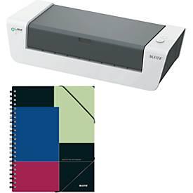 LEITZ® Laminiergerät iLAM touch A3 + Notizbuch Executive Be Mobile, GRATIS