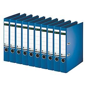LEITZ® Ordner 1007/1008, DIN A4, 52/80 mm, Karton, 10 Stück