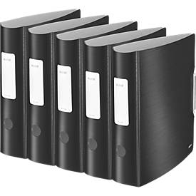 LEITZ® Ordner Style 1109, A4, 65/82 mm, PP