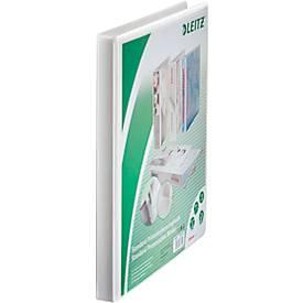 LEITZ® Präsentationsringbuch 4er-Mechanik, A4, Karton PP