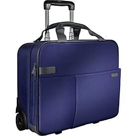 LEITZ® Reise-Trolley Smart Traveller, mit Tragegriff und Rollen, Polyester