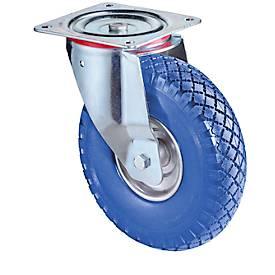 Lenkrolle mit pannensicheren Polyurethan-Reifen