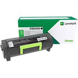 Lexmark 51B2000 Tonerkassette schwarz