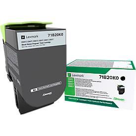 Lexmark 71B20K0 Tonerkassette schwarz