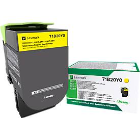 Lexmark 71B20Y0 Tonerkassette gelb