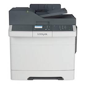 Lexmark Farblaserdrucker CX317dn, 3-in-1-Gerät, 23 Seiten pro Minute
