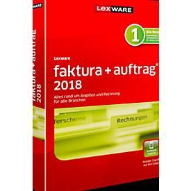 LEXWARE Software Faktura+Auftrag 2018