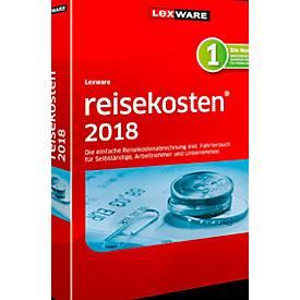 LEXWARE Software Reisekosten 2018