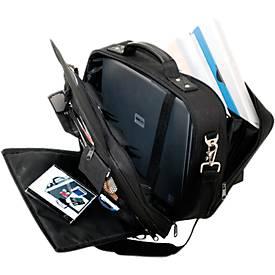 LIGHTPAK® Notebook-Tasche ARCO, f. 17 Zoll Laptops, 2 Fächer, Schultergurt