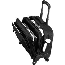 LIGHTPAK Business Laptop Trolley Star, mit Tragegriff und Rollen, mit Laptopfach, Nylon