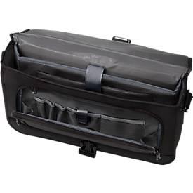 LIGHTPAK Messengerbag  Solar, mit Tragegriff, mit Laptopfach, Polyester