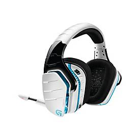 Logitech Gaming Headset G933 Artemis Spectrum - Snow Edition - drahtloses Headset-System