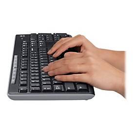 Logitech Wireless Combo MK270 - Tastatur-und-Maus-Set - EER