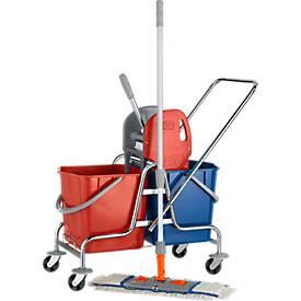 Lot complet chariot de nettoyage