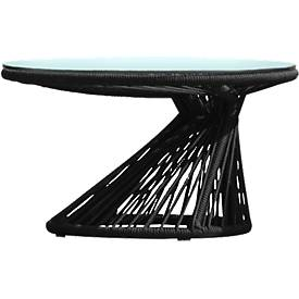 Lounge-Tisch Ray mit Glasplatte