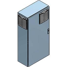 Luchtverwarmer, explosieveilig, uitvoering voor actieve/passieve opslag van brandbare stoffen