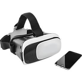 Lunettes de réalité virtuelle InterfacePlus, 3-D, noir/blanc, plastique