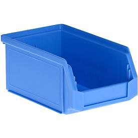 Magazijnbak LF 211, kunststof, 0,9 liter, blauw