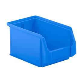 Magazijnbakken LF 221, kunststof, 2,7 liter, blauw
