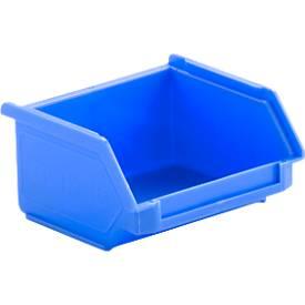 Magazijnbakken met zichtopening LF 110 blauw