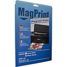 Magnetfolie, bedruckbar