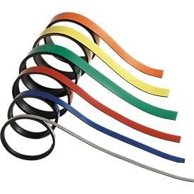 Magnetstreifen, 5 mm breit,  farbig