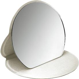 Make-up Spiegel Pretty, aufstellbar, mit softem Kunststoffetui, Ø 110 mm