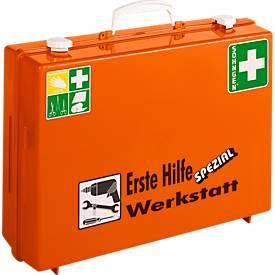 Mallette mobile de premiers secours, pour atelier