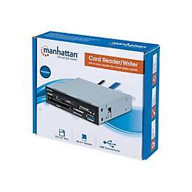 Manhattan Multi-Card Reader/Writer - Kartenleser - USB 3.0