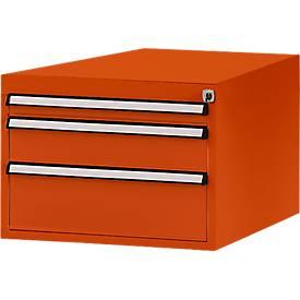 Manuflex ladeonderstel, voor d 800 mm, oranjerood