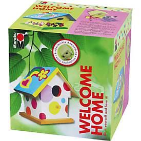 Marabu Vogelhaus-Set Welcome home