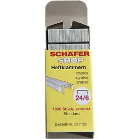 Markenheftklammern 24/6 von SCHÄFER SHOP