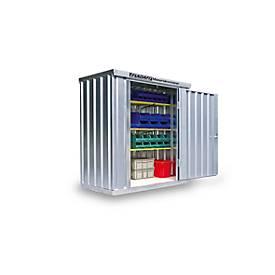 Materialcontainer MC 1100, verzinkt, zerlegt