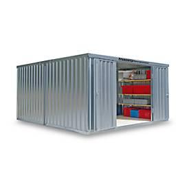 Materialcontainer Mod. 1440, verzinkt, zerlegt, ohne Boden