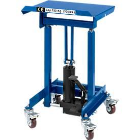 Materialständer, fahrbar, hydraulisch, Höhenverstellung 720-1070 mm