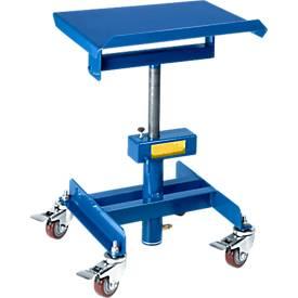 Materialständer, fahrbar, manuell, Höhenverstellung 510-700 mm