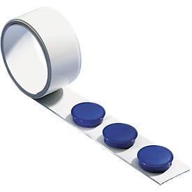 MAUL Magneetband, 1 meter lang, met 3 magneten, set