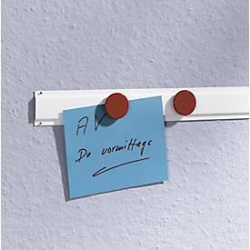 MAUL Profil-Wandleiste, Stahl, weißlackiert