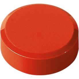 MAUL Rundmagnete, ø 30 x 10,5 mm, 20 Stück, rot