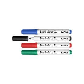 MAUL Tafelschreiber XL, farbig sortiert, 4 Stück