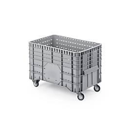Maxi-containers, met zwenkwielen, 300 l,