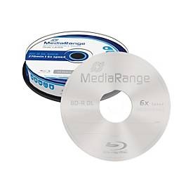 Image of MediaRange - BD-R DL x 10 - 50 GB - Speichermedium