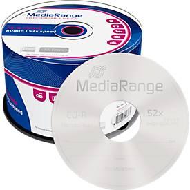 MediaRange CD-R, 700 MB, 52-fache Schreibgeschw...