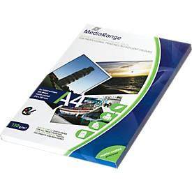 MediaRange Fotopapier DIN A4, matt, 130 g, 100 Blatt