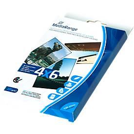MediaRange Fotopapier-Karten, 100 x 150 mm, hochglänzend, 50 Blatt