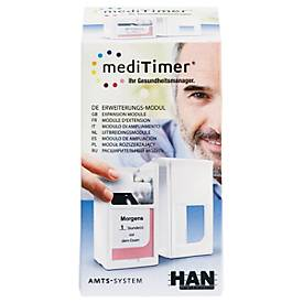 mediTimer® Erweiterungsmodul, Medikamentendosierer, beliebig erweiterbar, 1 Stück