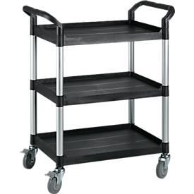 Mehrzweck-Tischwagen, 3 Etagen