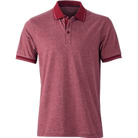 Men?s Heather Polo